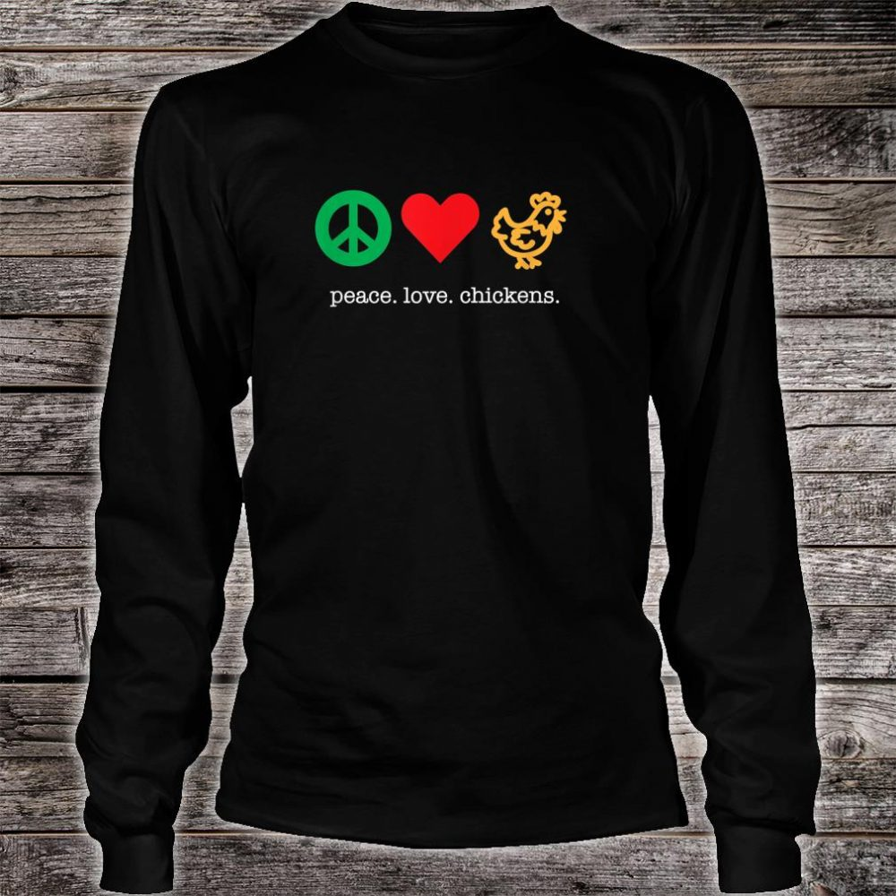 Awesome Chicken Shirt for Chicken Raisers Shirt long sleeved
