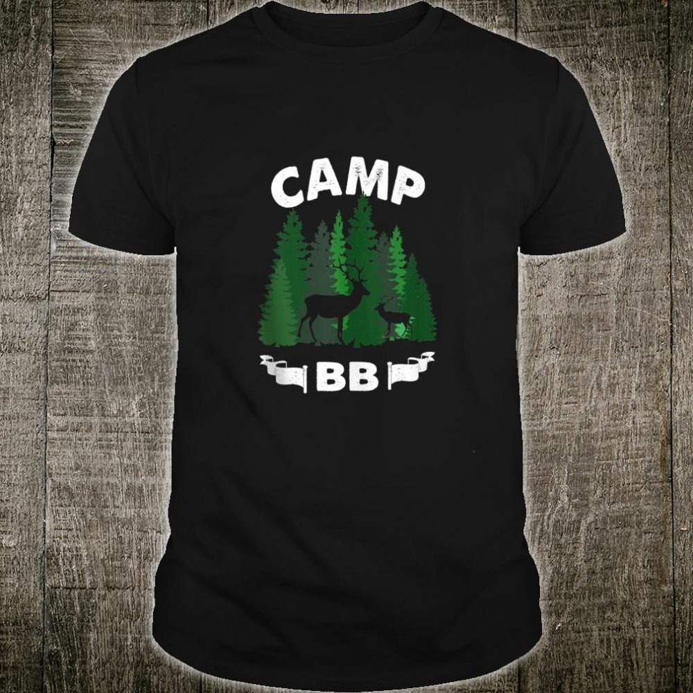 BB The BB Shirt Retro Vintage BB Camp Shirt