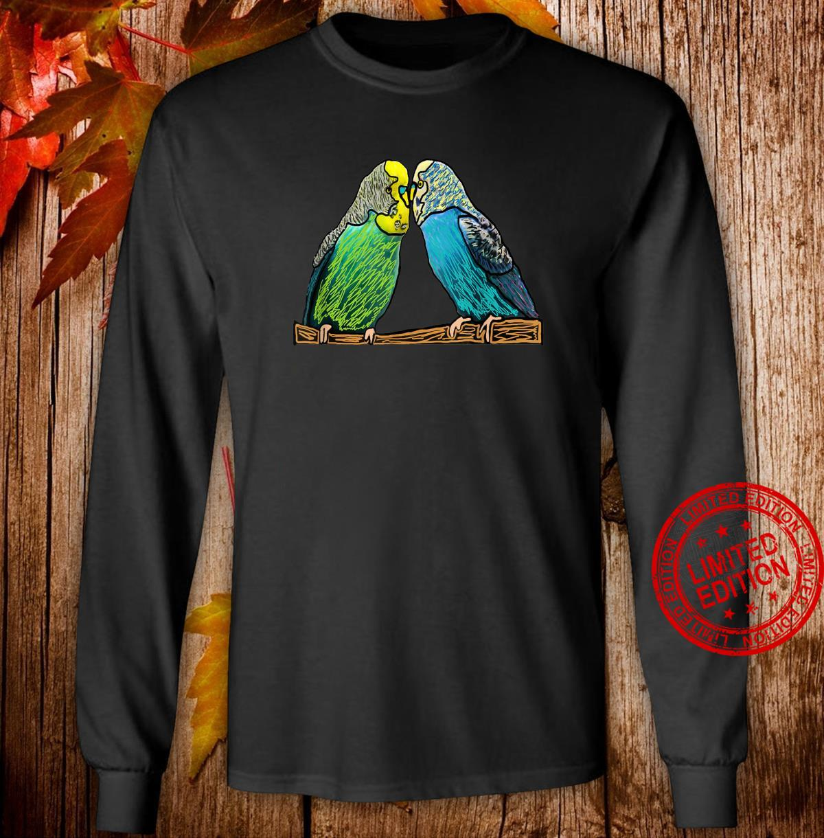 Budgie Shirt long sleeved