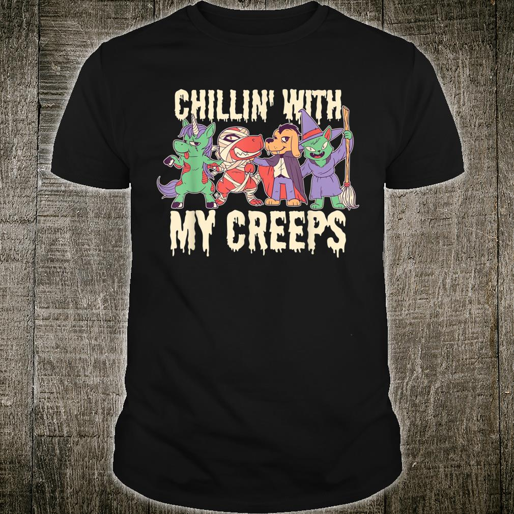 Chilling with My Creeps Halloween Shirt