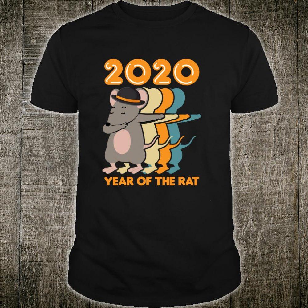Chinese New Year Dabbing Rat 2020 Year of the Rat Shirt