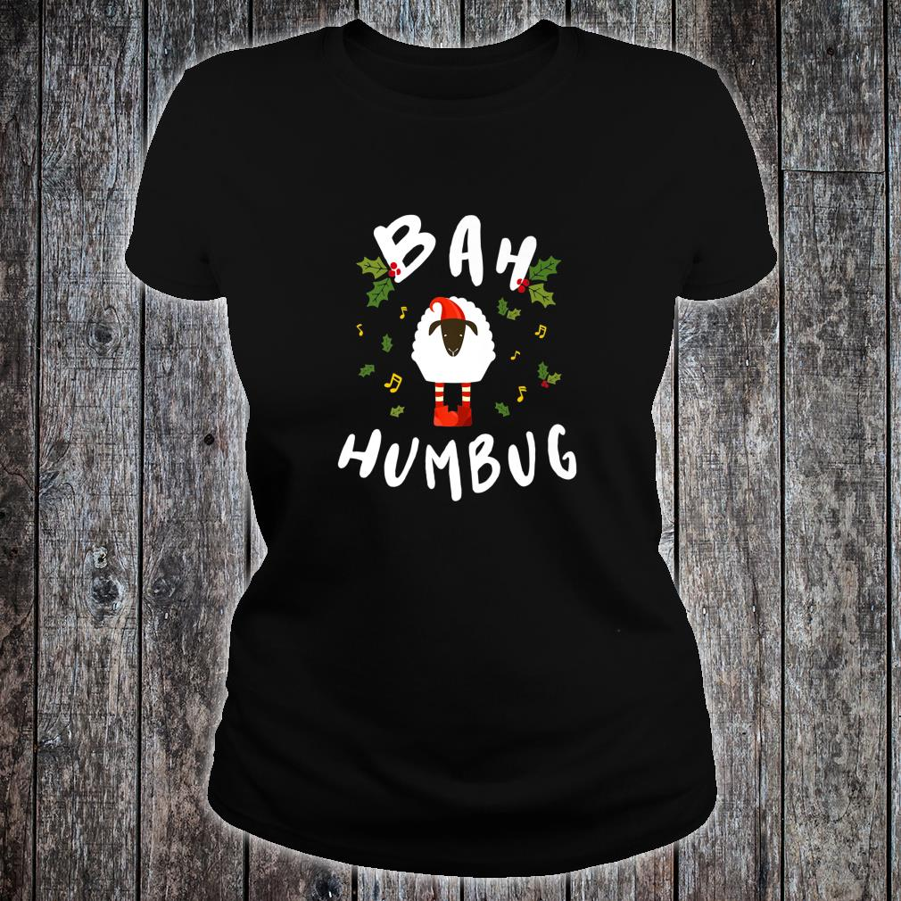Christmas Inspired Design for Ebenezer Scrooges Shirt ladies tee