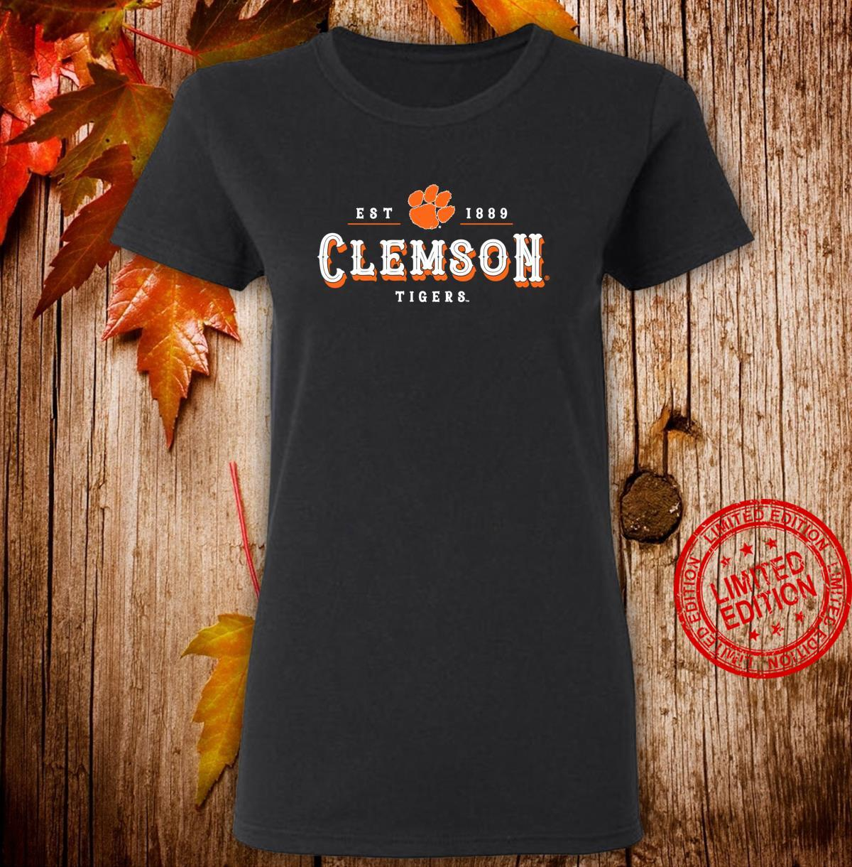 Clemson Tigers's College NCAA Shirt RYLCL12 Shirt ladies tee