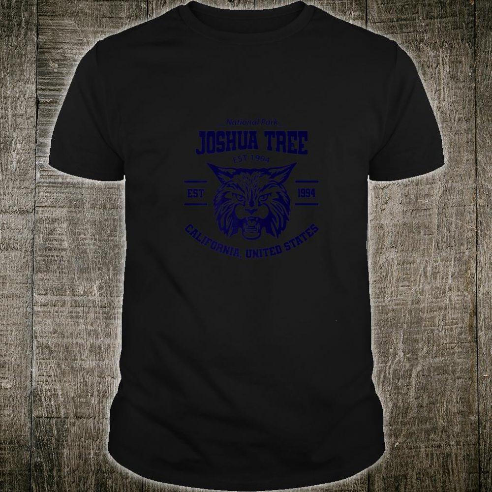 Cool Bobcat Joshua Tree National Park Shirt