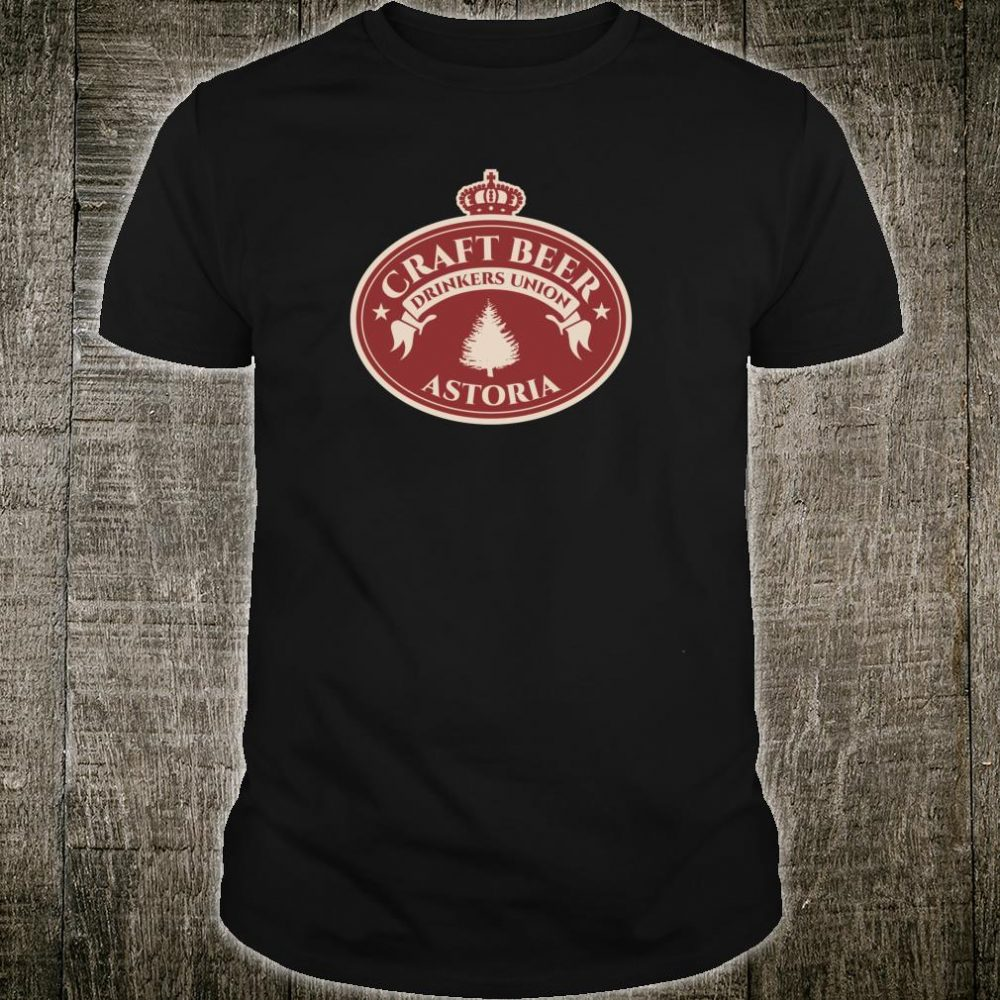 Craft Beers Astoria Oregon Shirt
