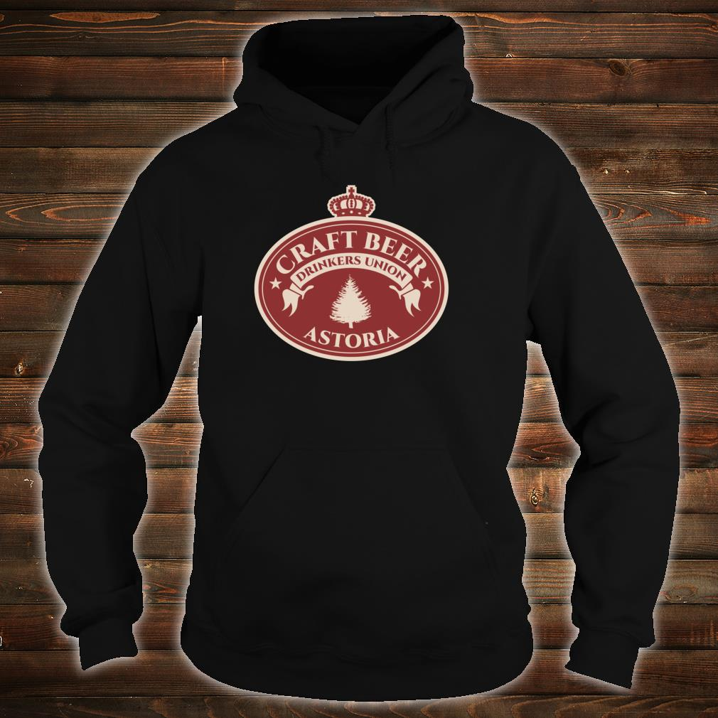 Craft Beers Astoria Oregon Shirt hoodie