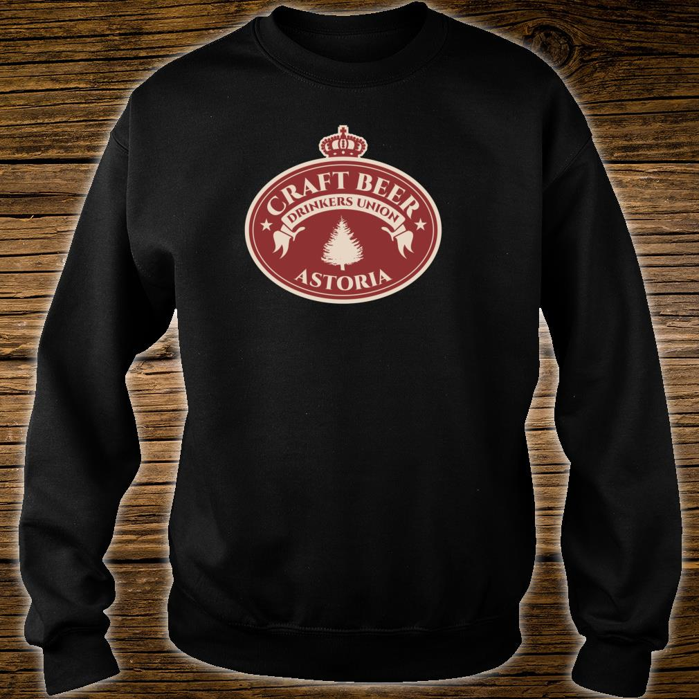 Craft Beers Astoria Oregon Shirt sweater