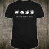 Cute Little Bear Panda Shirt This Is How I Roll Shirt