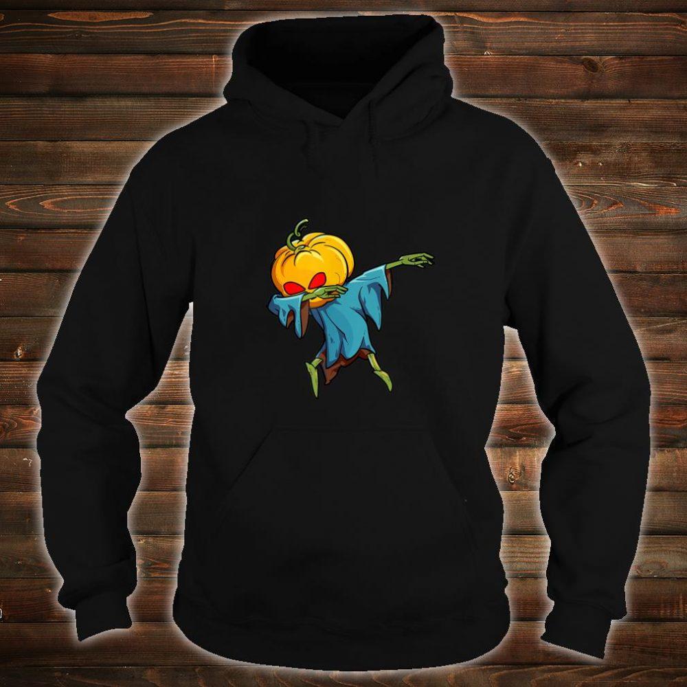 Dabbing Pumpkin Head Scary Halloween Dab Shirt hoodie
