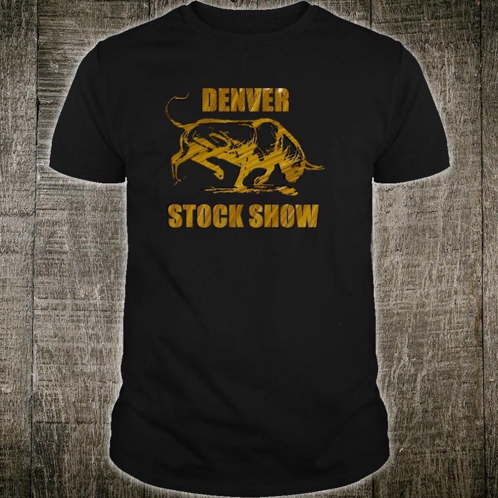 Denver Stock Show Colorado Bull Shirt