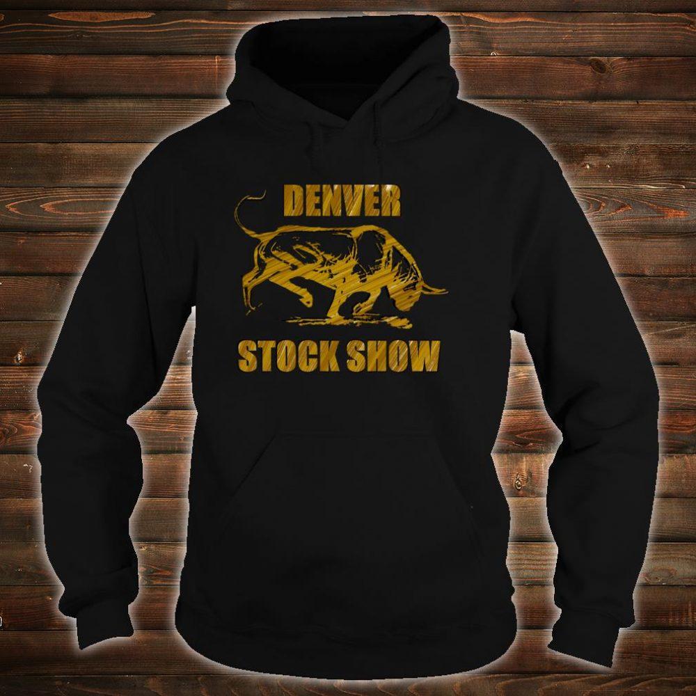 Denver Stock Show Colorado Bull Shirt hoodie