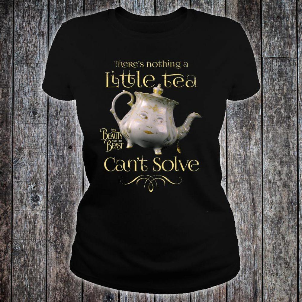 Disney Beauty & The Beast Mrs. Potts Tea Fix Shirt ladies tee