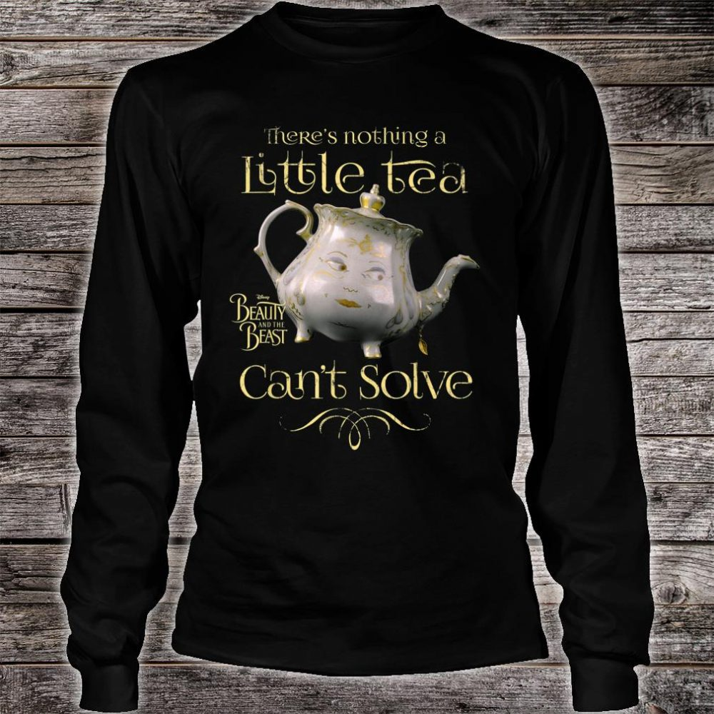 Disney Beauty & The Beast Mrs. Potts Tea Fix Shirt long sleeved