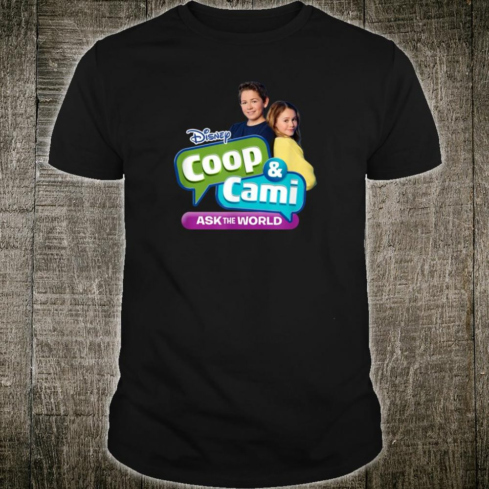 Disney Channel Coop & Cami Ask the World Shirt