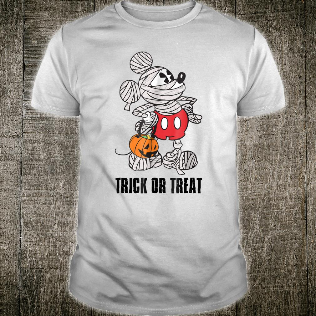 Disney Mickey Mouse Mummy Halloween Shirt
