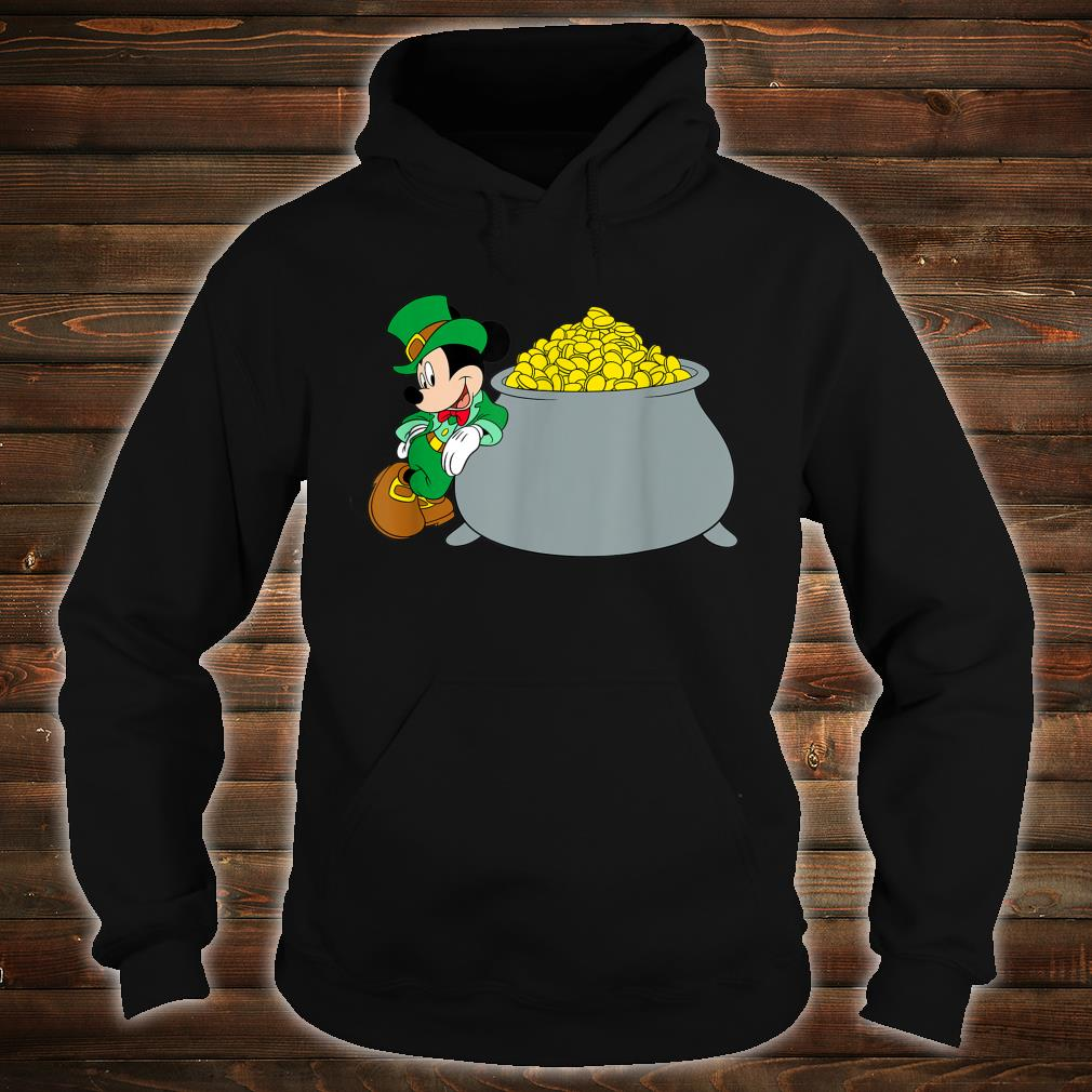 Disney Mickey Mouse St. Patrick's Day Pot of Gold Shirt hoodie
