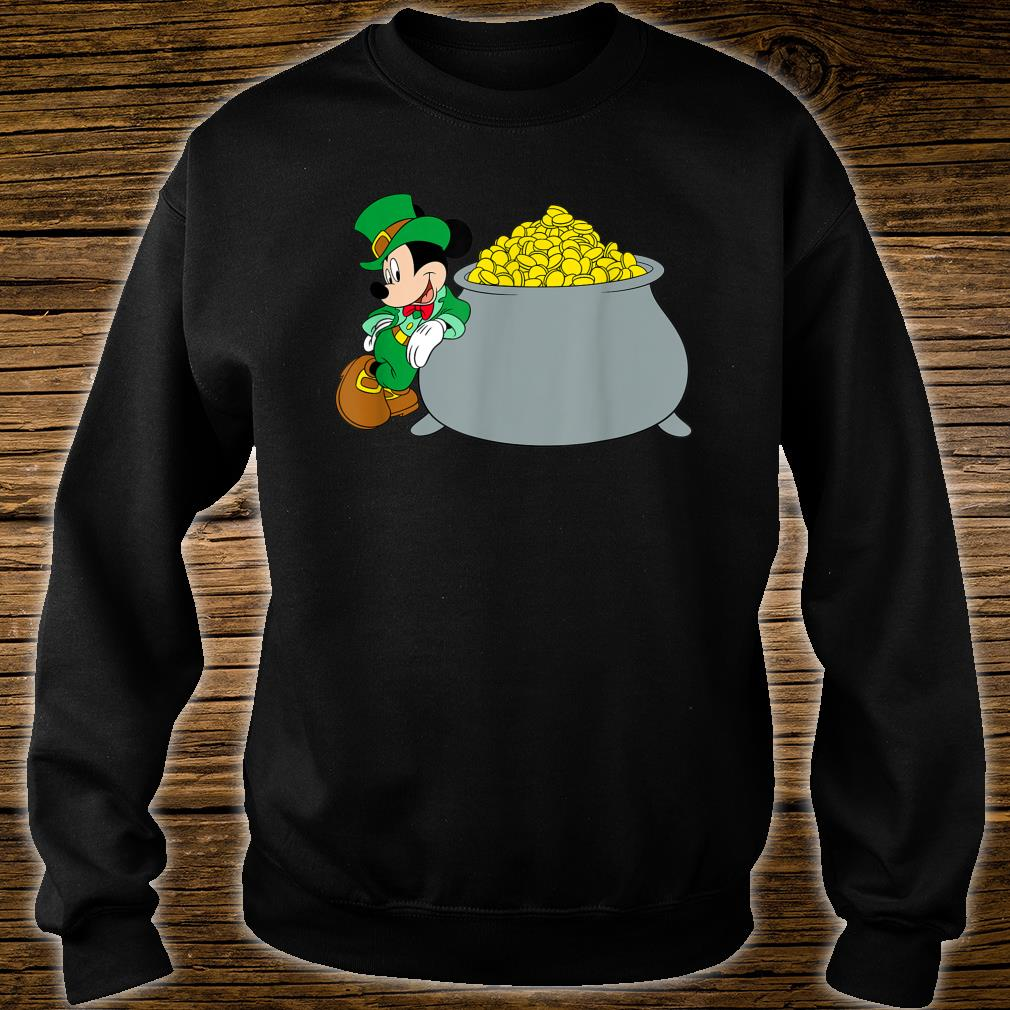 Disney Mickey Mouse St. Patrick's Day Pot of Gold Shirt sweater