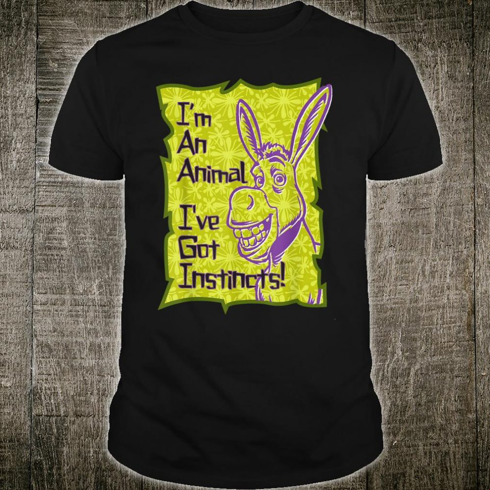 DreamWorks Shrek Donkey I've Got Instincts Shirt