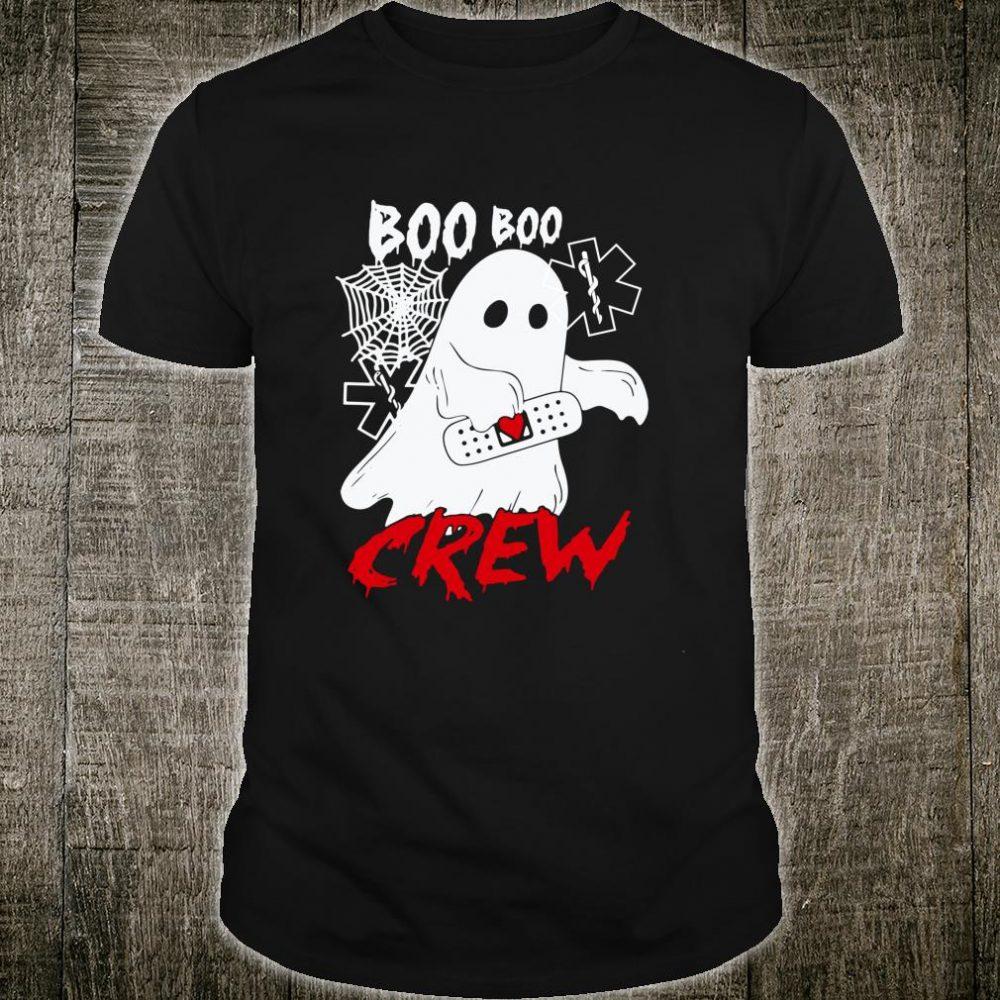 EMT Doctor Boo Boo Crew Ghost Halloween