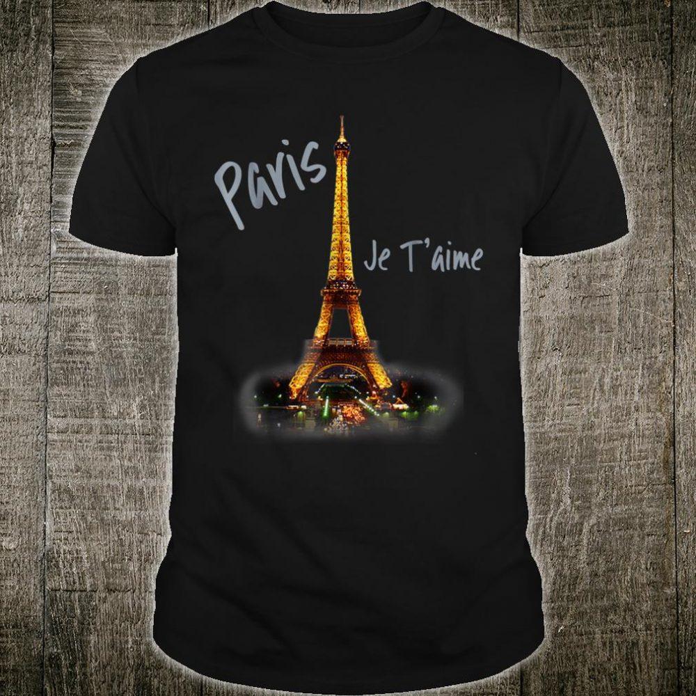 Eiffel Tower Paris Shirt Vintage I Love Paris France Shirt