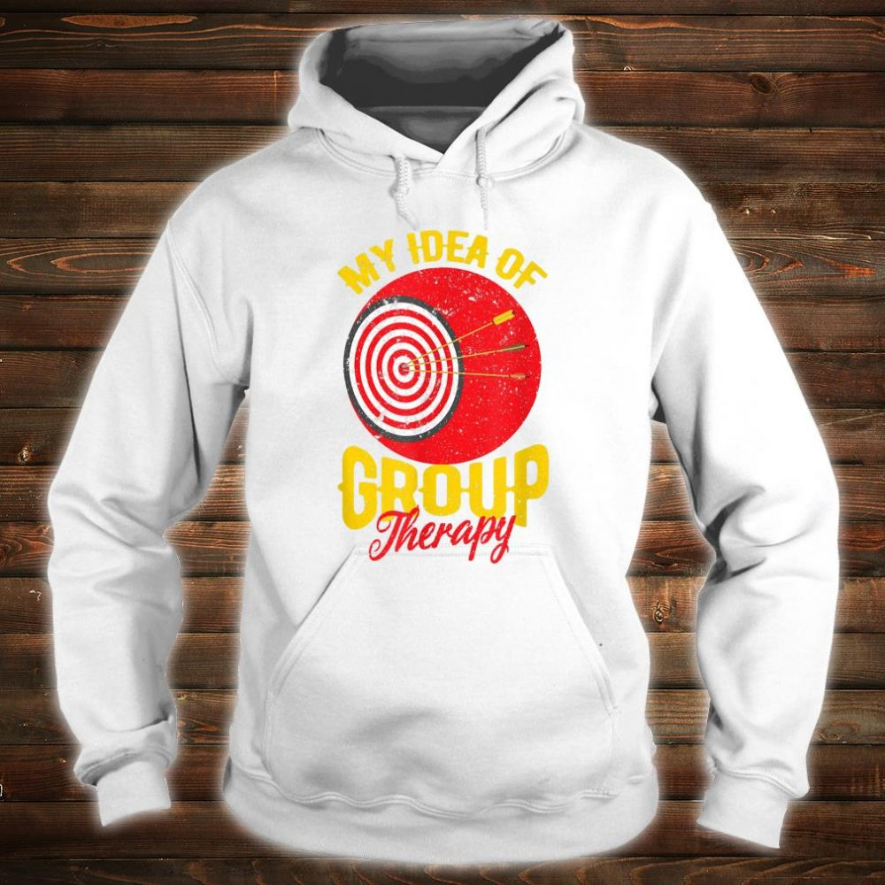 Official Funny Bow Hunting Gear Group Therapy Archery Target Retro Shirt Hoodie Tank Top And Sweater