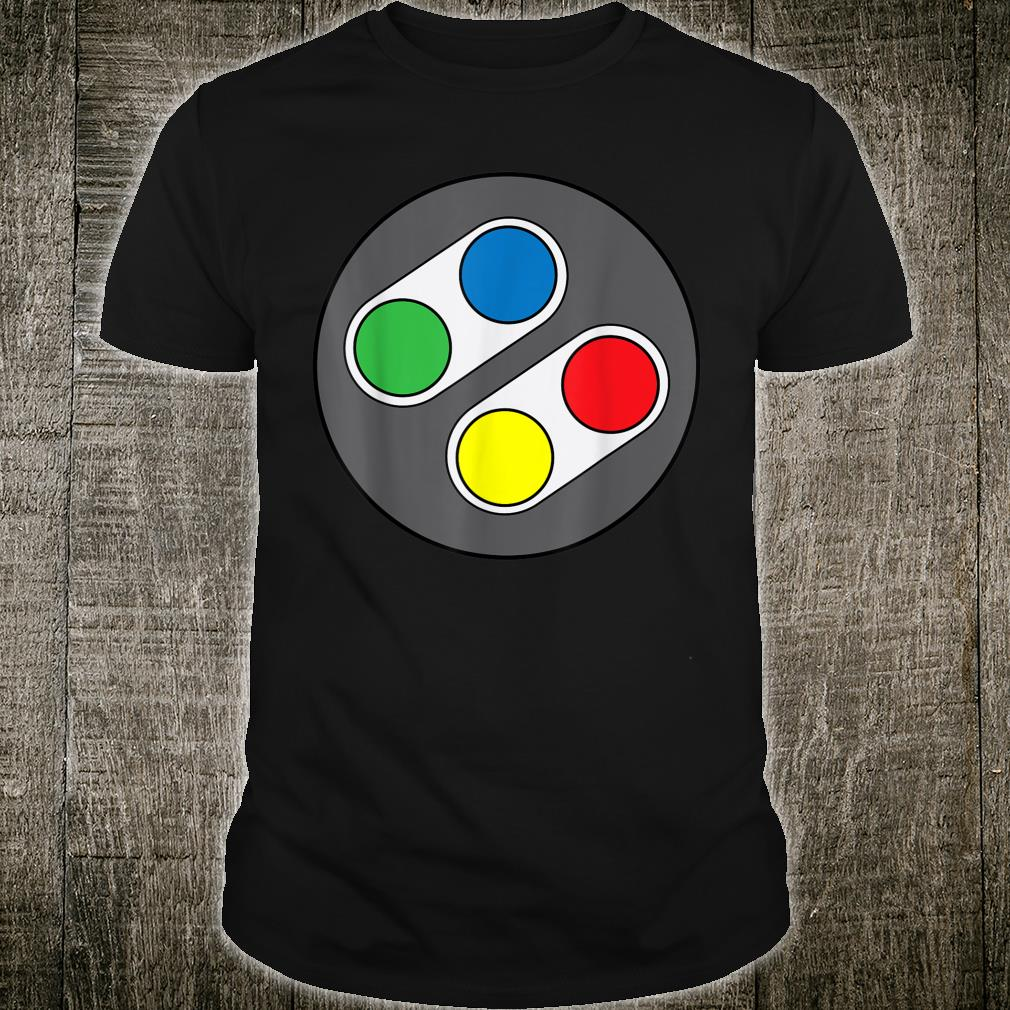 Funny Gamings Gaming Controller Button Shirt