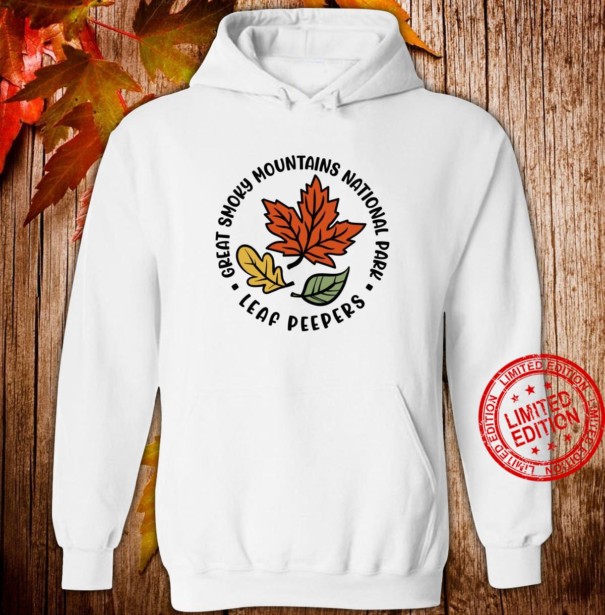 Great Smoky Mountains National Park Leaf Peeper Fall Shirt hoodie