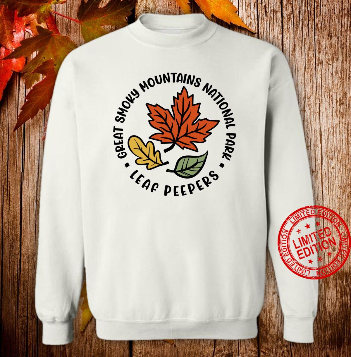 Great Smoky Mountains National Park Leaf Peeper Fall Shirt sweater