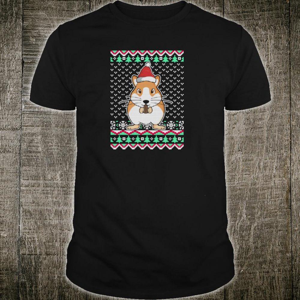 Guinea Pig Ugly Christmas Shirt