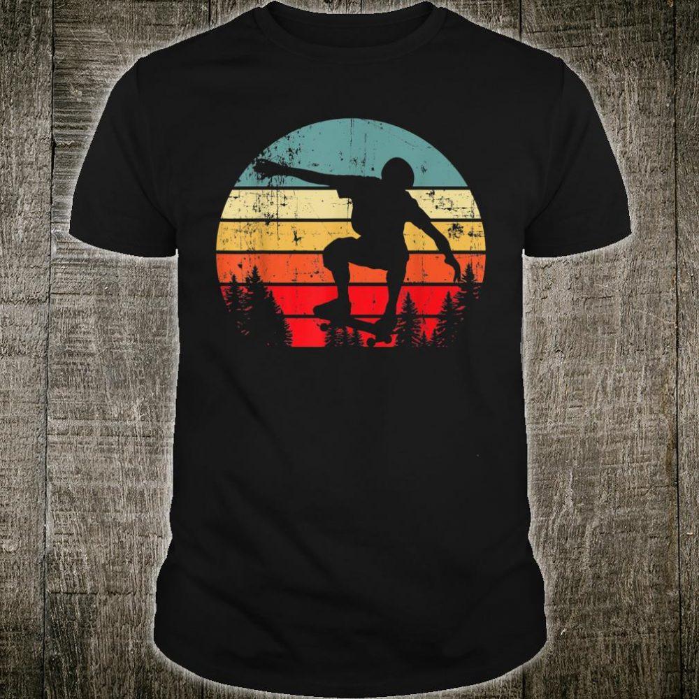 Half Pipe Retro vintage Skateboarder Skater Love Shirt