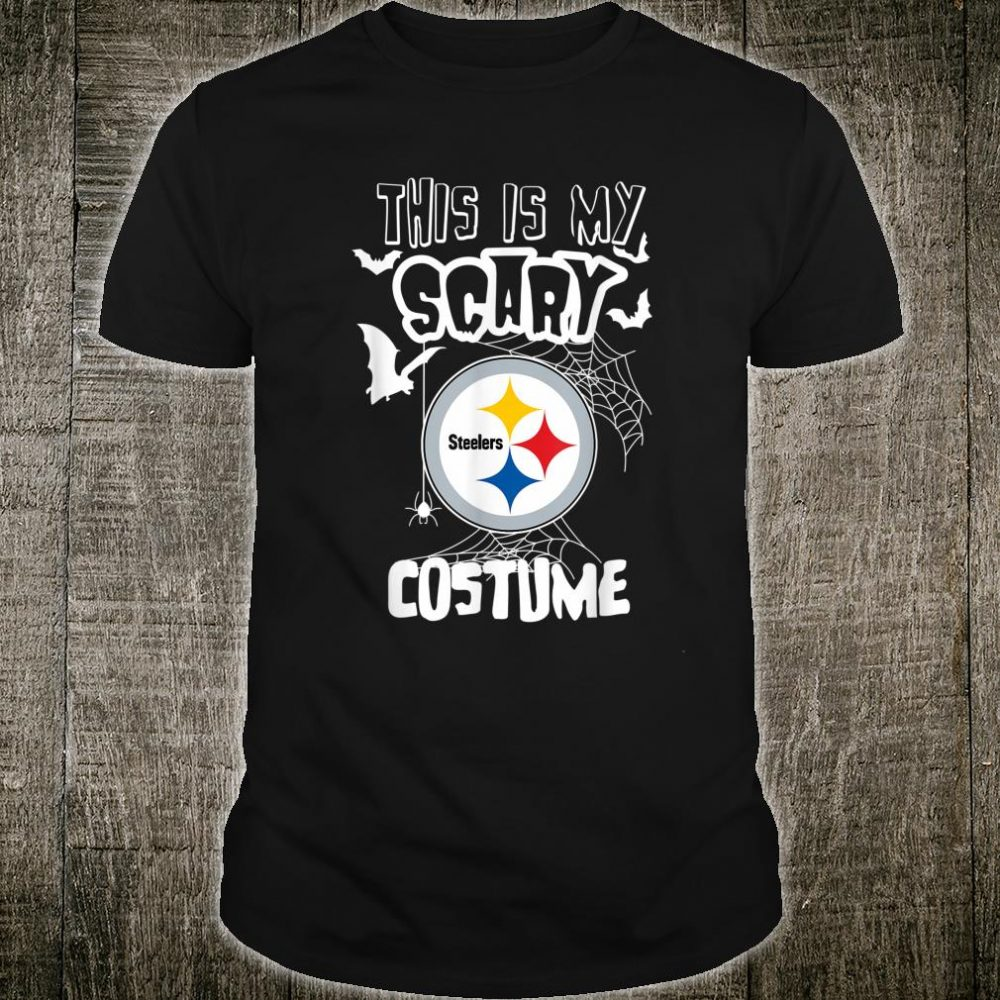 Halloween This is My Scary Costume PittsburghSler Shirt