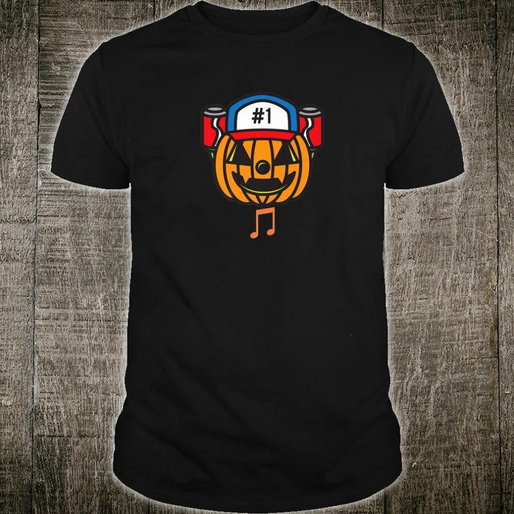Halloween pumpkin face music Shirt