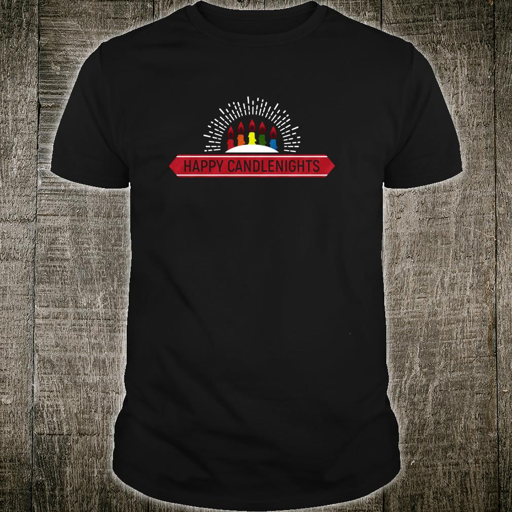 Happy Candle Nights Shirt