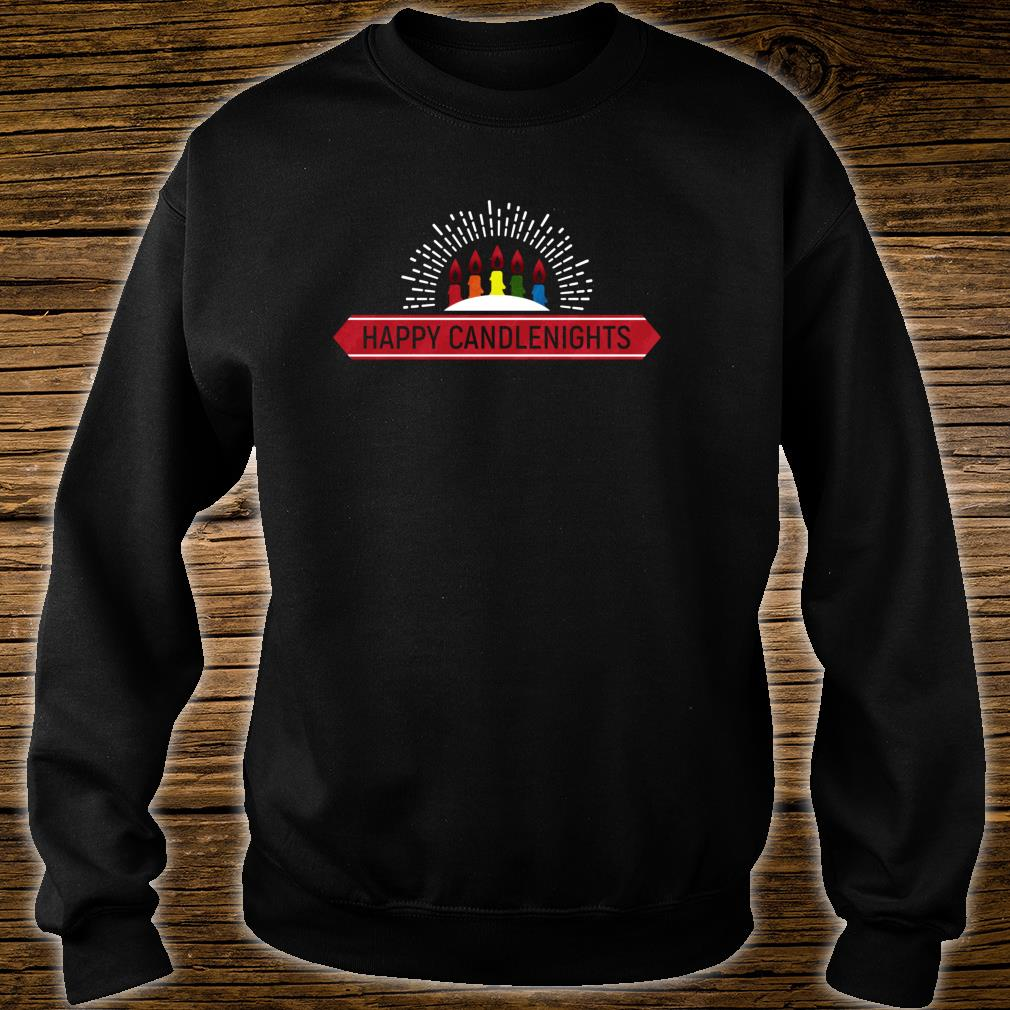 Happy Candle Nights Shirt sweater