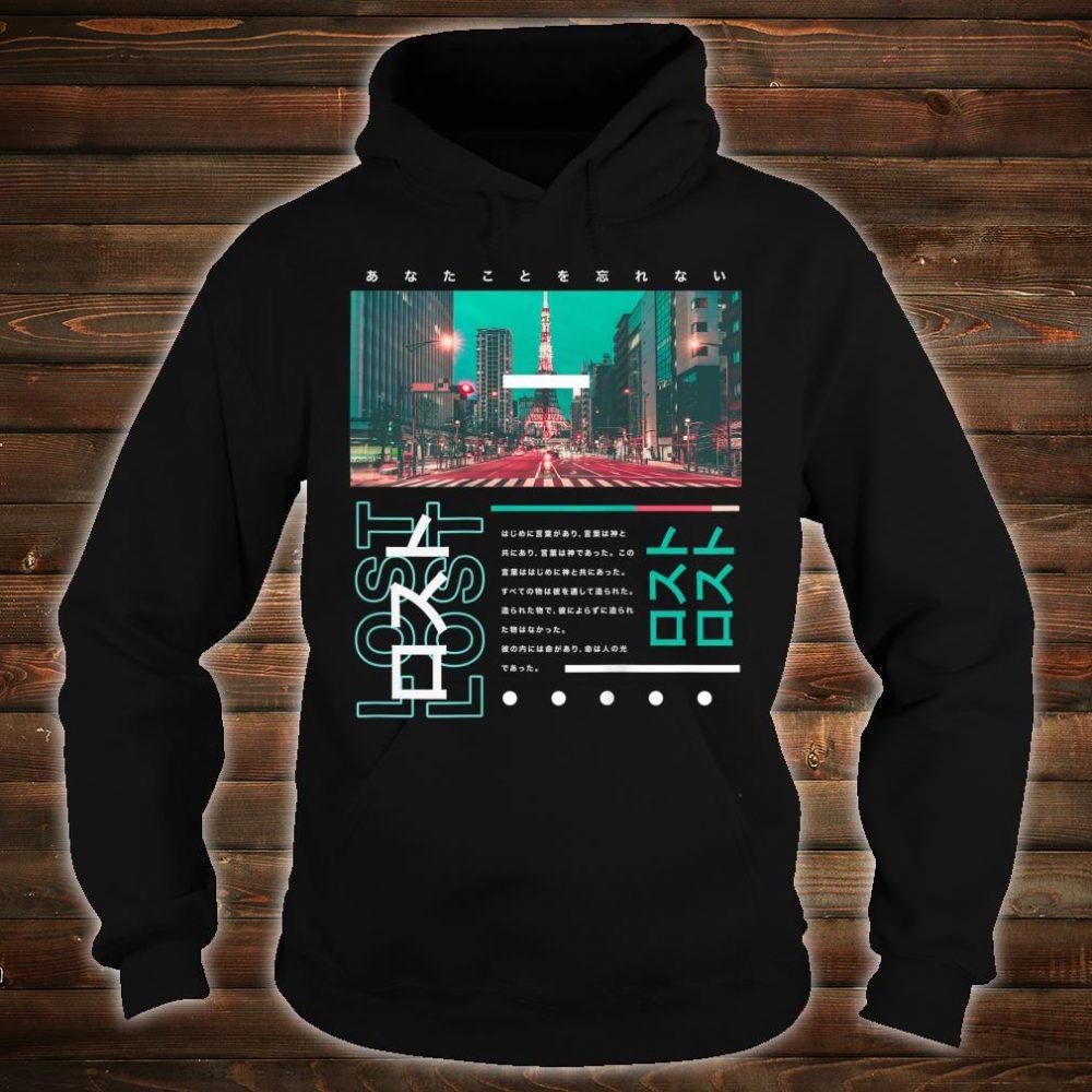 Harajuku Japanese Tokyo Streetwear Aesthetic Trendy Shirt hoodie