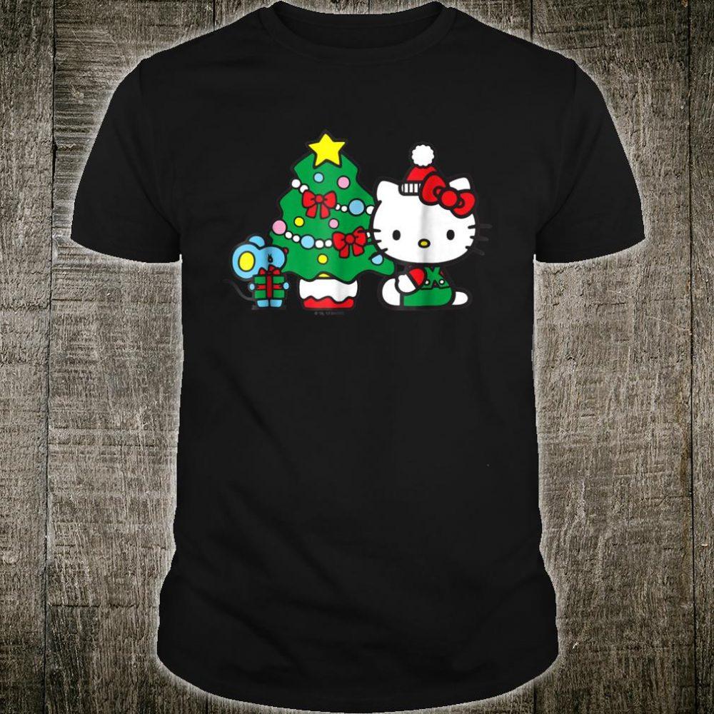 Hello Kitty Christmas Tree Shirt