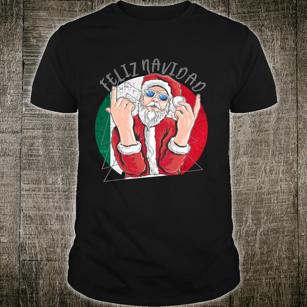 Official Hip Santa Claus Mexican Christmas Shirt Hoodie Tank Top And Sweater