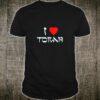 I Love Torah Jewish Scrolls Reading Simchat Torah Holiday Shirt