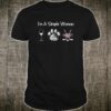 I'm A Simple Woman Wine Dogs Hockey Gifts