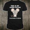I'm Actually A Mouse Shirt Cute Halloween Costume Shirt