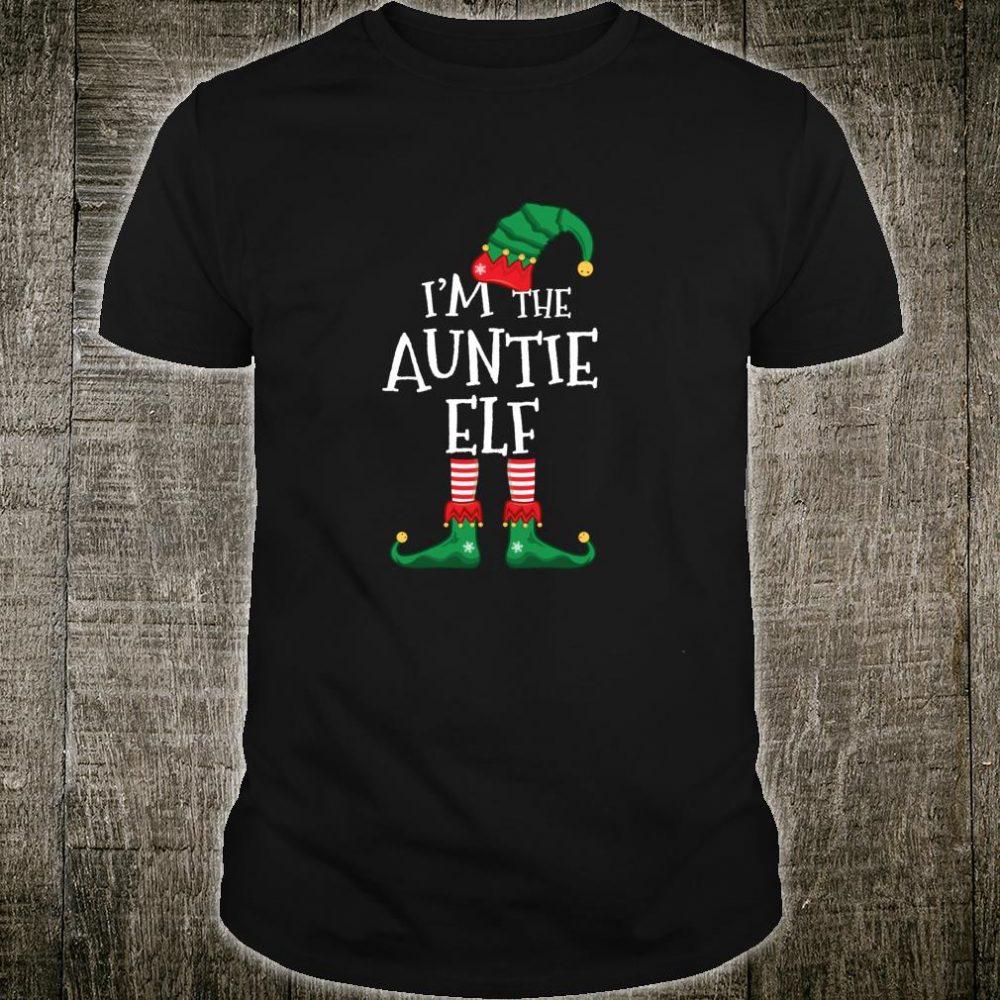 I'm The AuntieElf MatchingFamily Christmas Shirt