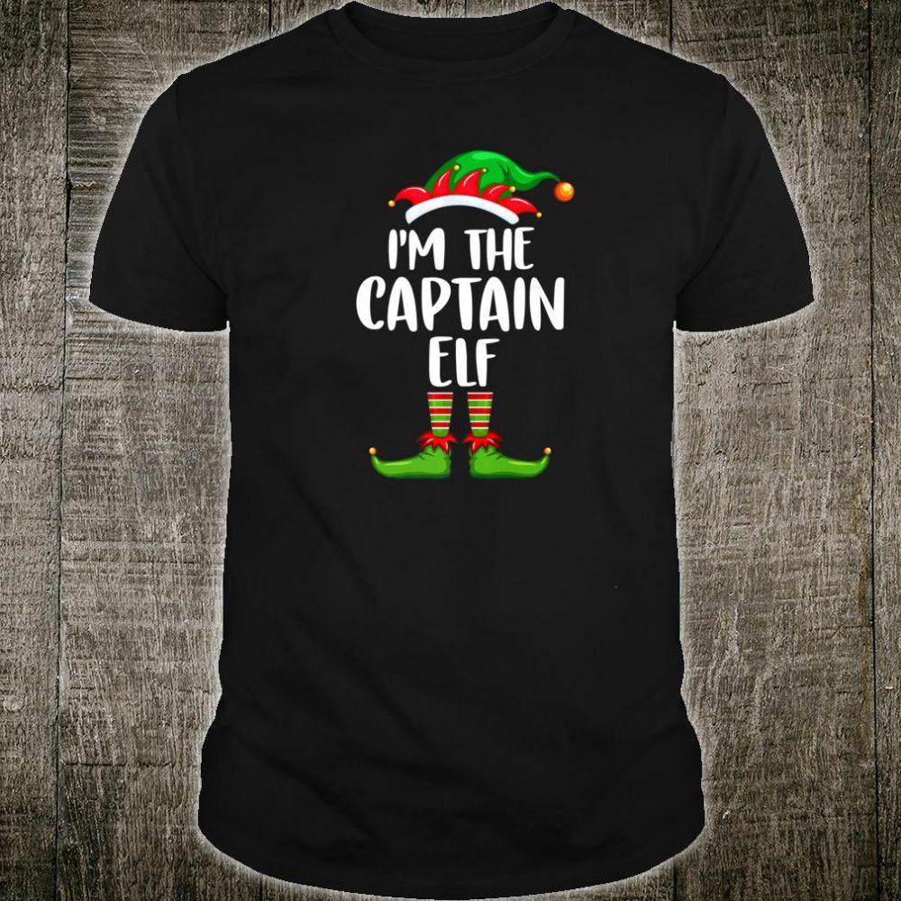 I'm The Captain Elf Shirt Matching Family Group Christmas Shirt