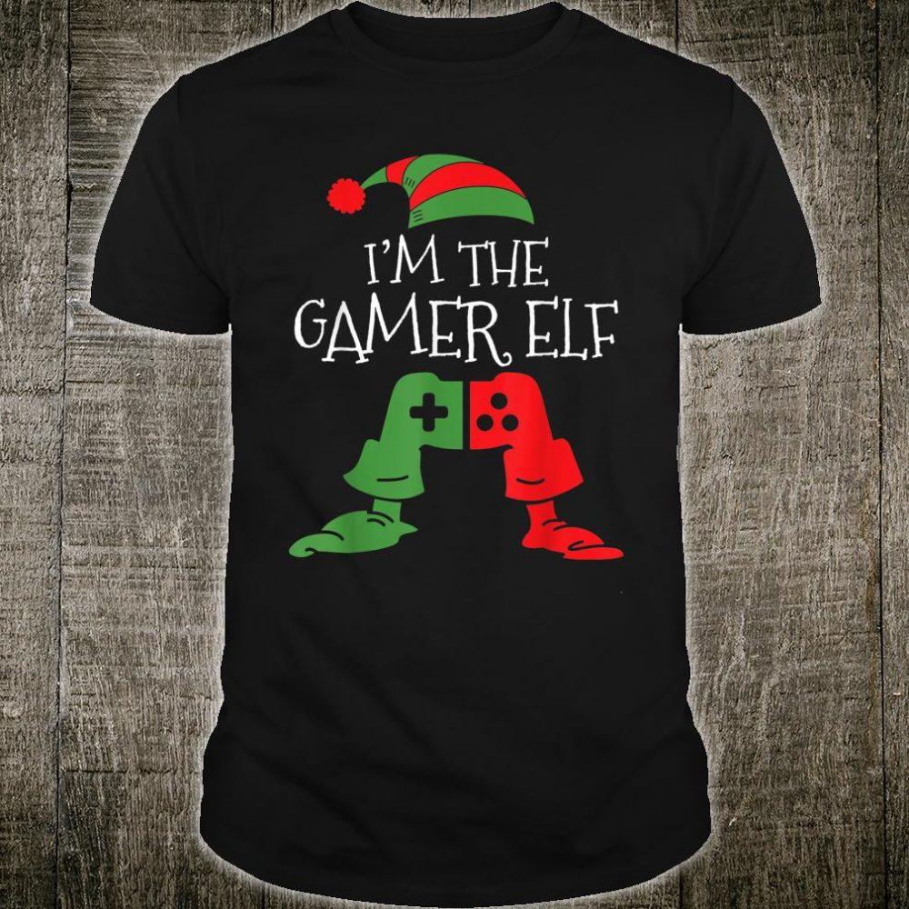 I'm The Gamer Elf Matching Family Christmas Shirt