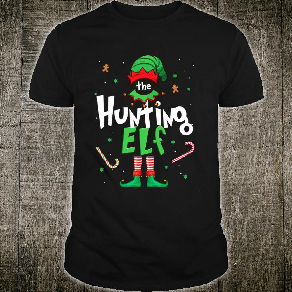I'm The Hunting Elf Christmas Idea Xmas Family Shirt