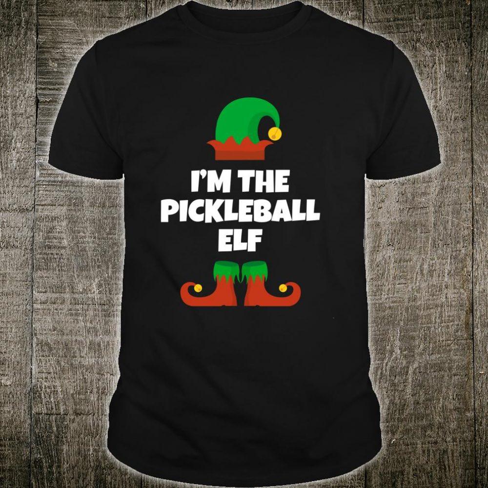 I'm The Pickleball Elf Family Christmas Player Shirt