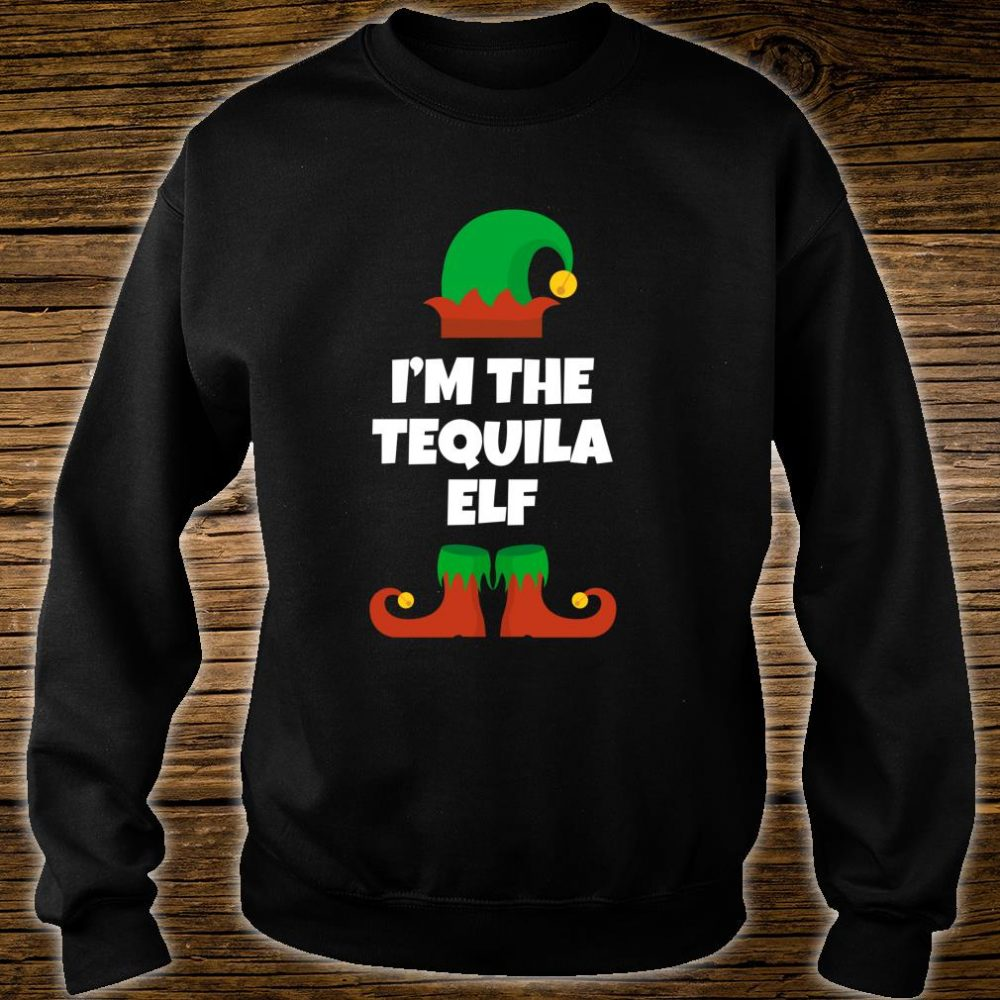 I'm The Tequila Elf Family Christmas Drinking Shirt sweater