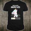 Installing Muscles Unicorn Dead lifting Lifting Shirt