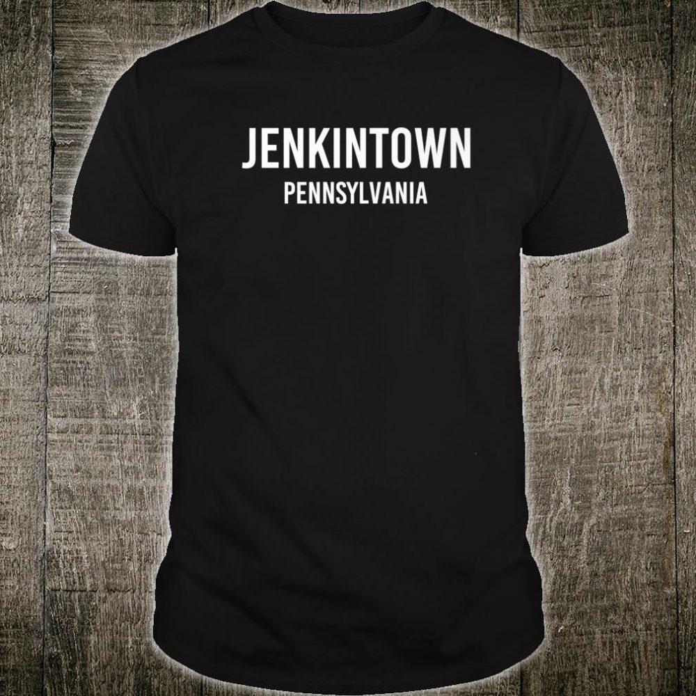 JENKINTOWN PENNSYLVANIA PA USA Patriotic Vintage Sports Shirt