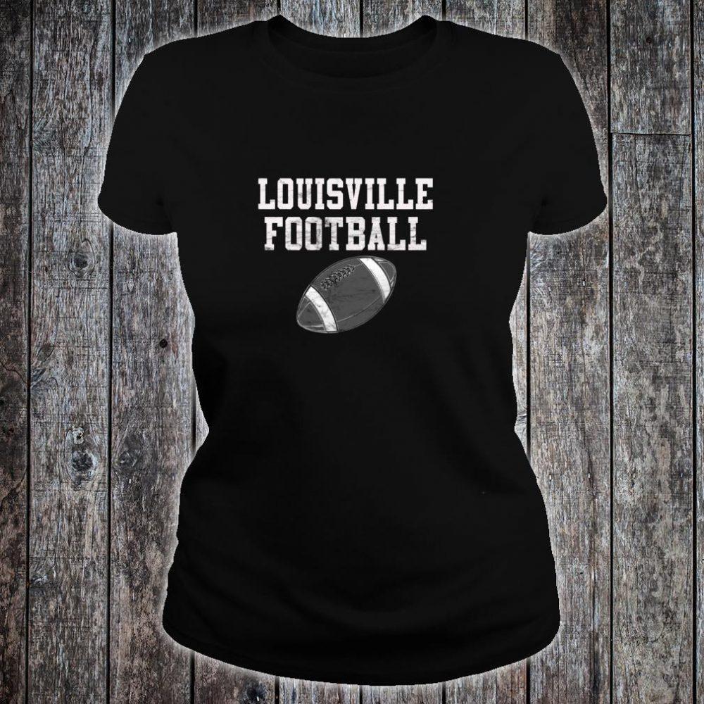 Louisville Football Shirt ladies tee