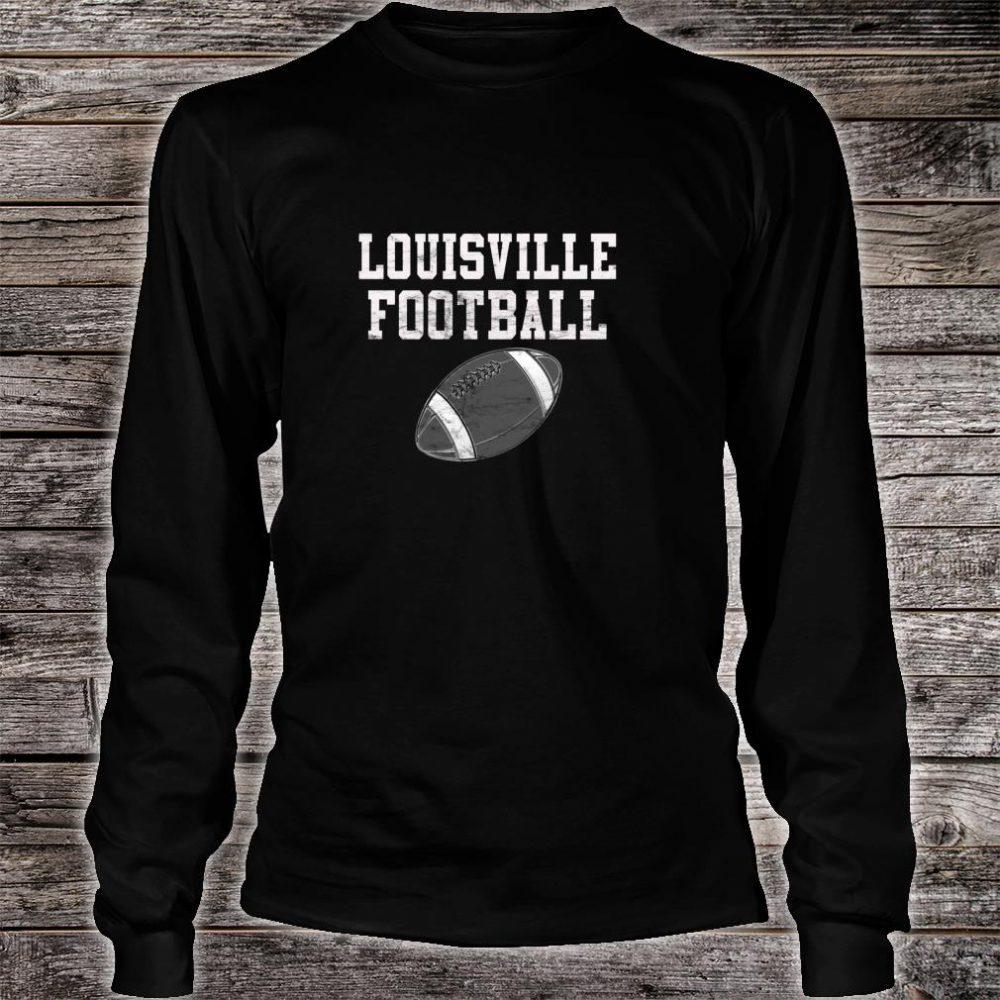 Louisville Football Shirt long sleeved